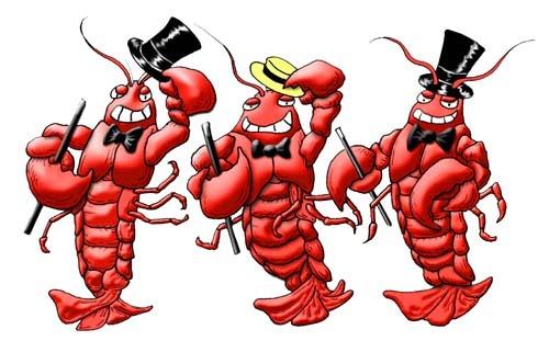 Dancing-lobsters
